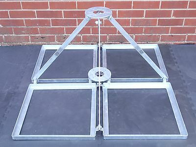 Flat Roof Mount Support With Rotator And Bearing Platforms - Be108