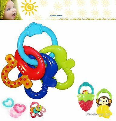 Bright Starts Teether Baby Chill Vibration Teether Baby Comfort Water Filled