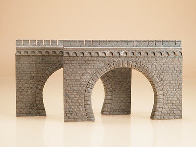 Auhagen 41587 NEW HO 2 DOUBLE TRACK TUNNEL PORTALS