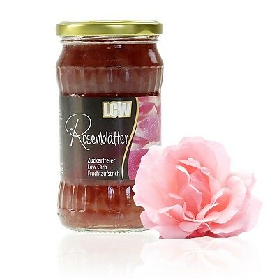 LCW Sugar Free Rose Petal Jam 340 g, Low Carb, No Added Sugar