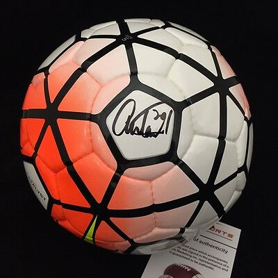 Abby Wambach Autographed Signed Authentic Womens Team Usa Soccer Ball Nike