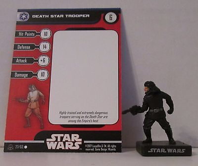 Death Star Trooper 27/60 Star Wars Miniatures Minis Alliance And Empires A&E