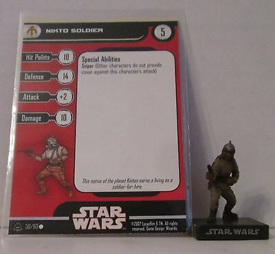 Nikto Soldier 50/60 Star Wars Miniatures Minis Alliance And Empires A&E