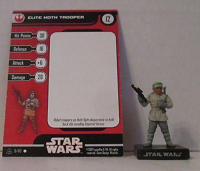 Elite Hoth Trooper 6/60 Star Wars Miniatures Minis Alliance And Empires A&E