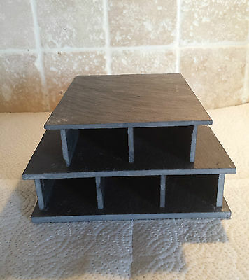 5 Caves in 1 Breeding slate cave set for bristlenose, pleco,fish