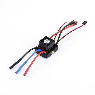 RC Waterproof ESC 60A Brushless Sensorless For RC 1:10 Car Buggy Truck