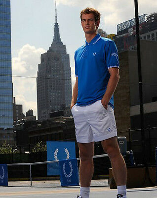 P309 Olympic Gold British Tennis Champion Andy Murray  10x 8 UNSIGNED photo