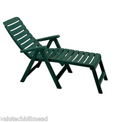SCAB Cleopatra 2 in 1 Folding Sun Lounger