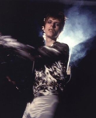 David Bowie  10x 8 UNSIGNED photo - P197 - Heroes, Life On Mars? & Jean Genie