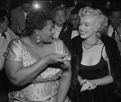 Ella Fitzgerald & Marilyn Monroe ‏ 10x 8 UNSIGNED photo - P1427