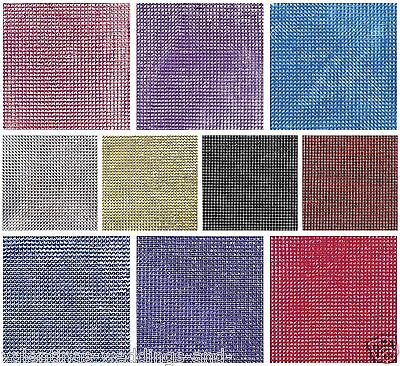 Self Adhesive Stickers Diamante Rhinestone Bling Sheet 3mm x 1596 Crystals