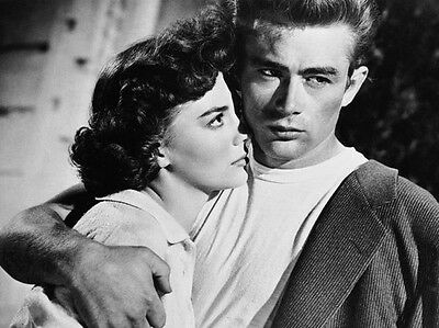 James Dean & Natalie Wood ‏ 10x 8 UNSIGNED photo - P498 - Rebel Without A Cause