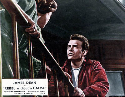 James Dean & Natalie Wood  10x 8 UNSIGNED photo - P507 - Rebel Without A Cause