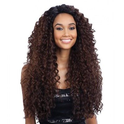 Kitron - Freetress Equal Deep Invisible 'L' Part Synthetic Lace Front Wig