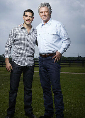 Patrick Duffy & Jesse Metcalfe UNSIGNED photo - P2640 - Dallas