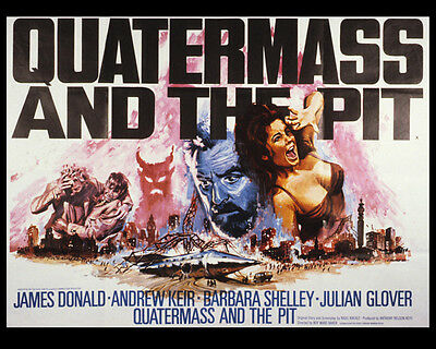 Quatermass and the Pit UNSIGNED photo - P2526 - Julian Glover & Barbara Shelley
