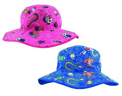 Baby Banz Reversible Sun Hat Dreamtime Adjustable Fit UVA UVB Protection 0/2 Yrs