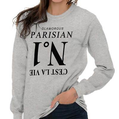 Cute Paris Girly Women Shirts Funny Picture Shirt Cute Gift Ladies T Shirt