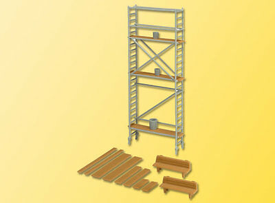 Kibri 38145 NEW HO DECORATION SET SCAFFOLDING