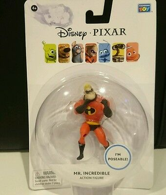 Disney / Pixar The Incredibles 3.75 Inch Action Figure Mr. Incredible New