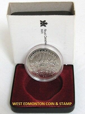 1980 Specimen Silver Dollar - Royal Canadian Mint Issue - Arctic Territories