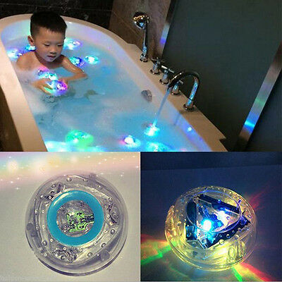 Kids Toy Bath Water LED Light Waterproof Flash Children Funny Toy In The Tub