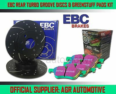 EBC RR GD DISCS GREEN PADS 290mm FOR MERCEDES CLK CLK200 CONVERTIBLE 1998-02