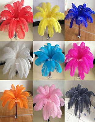 10-100 pcs 6-16'inch/15-40cm High Quality Natural OSTRICH FEATHERS Wedding
