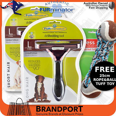 FURminator for L DOGS choose SHORT/LONG hair brush comb ShearMagic Aristopet