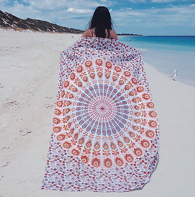 Hippie Twin Mandala Tapestry Indian Bedspread Beach Wall Hanging Dorm Boho Throw