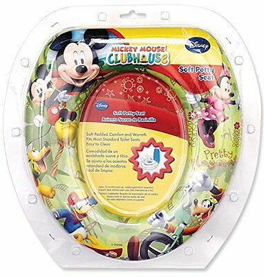 Disney Mickey Mouse Soft Potty Seat, Kids Toddler Baby Toilet Training NEW