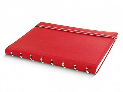 Notebook A5 in red von Filofax