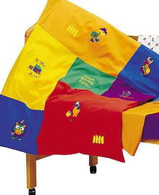 Bright Bots Bright Cots Farmyard cot quilt / floor play mat cover BNIP RRP$79.95