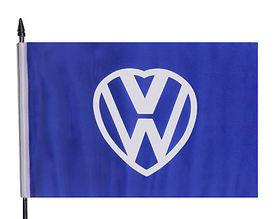 VW Love Volkswagon Medium Hand Waving Flag