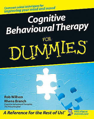 Cognitive Behavioural Therapy For Dummies, Rhena Branch Paperback Book