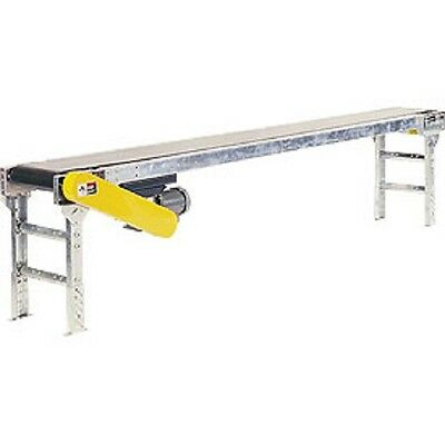 """NEW! Powered 12""""W x 10'L Belt Conveyor without Side Rails!!"""
