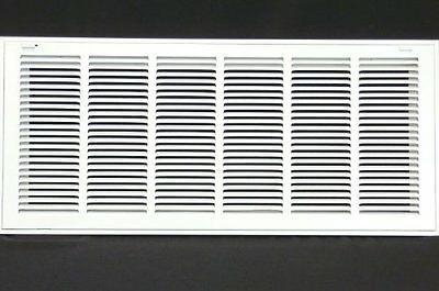 "30w"" x 10h"" RETURN FILTER GRILLE - HVAC Dcut Cover - Flat Stamped Face"