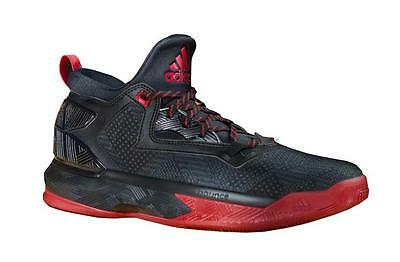 on sale ad424 25170 F37124 adidas D Lillard 2 Mens Basketball Shoes BlackScarle size US 11