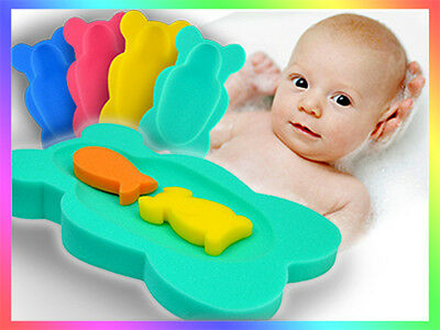 Baby Bath Sponge Support Comfort Soft Safe Foam Brand New Toddler  _Maxi Plain