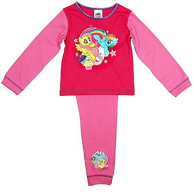 NEW OFFICIAL My Little Pony Girls Nightwear Pyjamas PJs For Girls