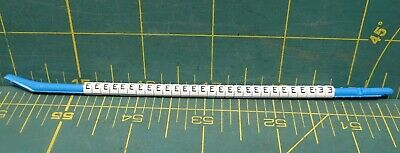 "Hellermann Tyton Clip-Tags Wire Marker Letter ""E"" Lot of 28 16ga to 10ga"