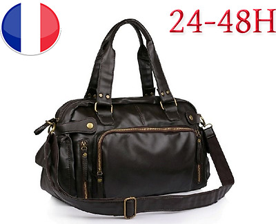 Sac 24h Sacoche Homme Luxe Design Bagage à Main Valise Cabine