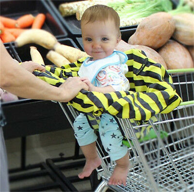 New Baby Infant Shopping Cart Cover High Chair Safety Printed Nylon Fabric M2