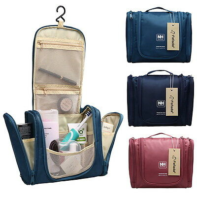 Deluxe Travel Wash Organizer Bathroom Storage Hanging Cosmetic Toiletry Bag New