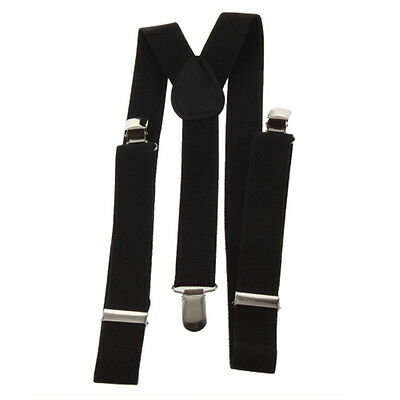 Adjustable Brace Clip-on Unisex Pants Elastic Adult Child Y-back Suspender-Y BE