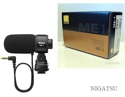 NEW Nikon ME-1 Stereo Microphone for Digital SLR Cameras from JAPAN