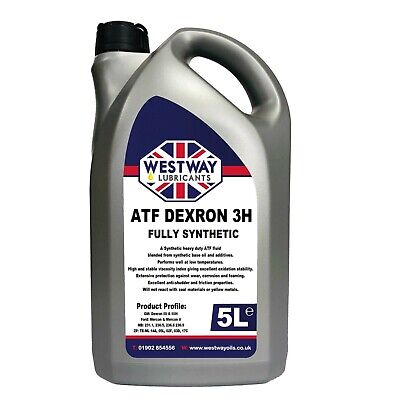 Fully Synthetic ATF 3 Dexron 3 Transmission Fluid - Made in UK