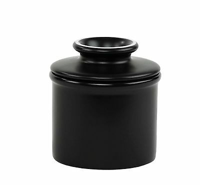 The Original Butter Bell Crock by L. Tremain Matte Black Black Matte New