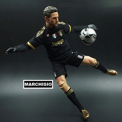 CLAUDIO MARCHISIO #10 JUVENTUS 2016 30 cm BIG football action figures 1/6 doll