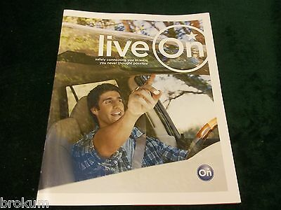 Mint 2011 Onstar Communications System Brochure New Original  (Box 730)